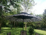 Umbrellas for patio table