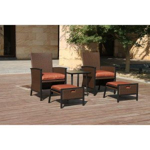 Archer Wicker Leisure Set