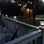 Outdoor Lighting Ideas for the Patio-Solar Post light
