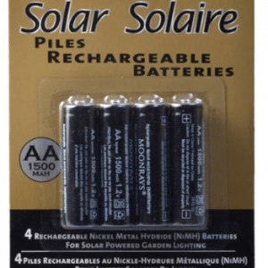 Moonrays Rechargeable Batteries