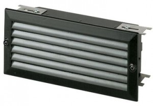Louvered Low Voltage Brick Light