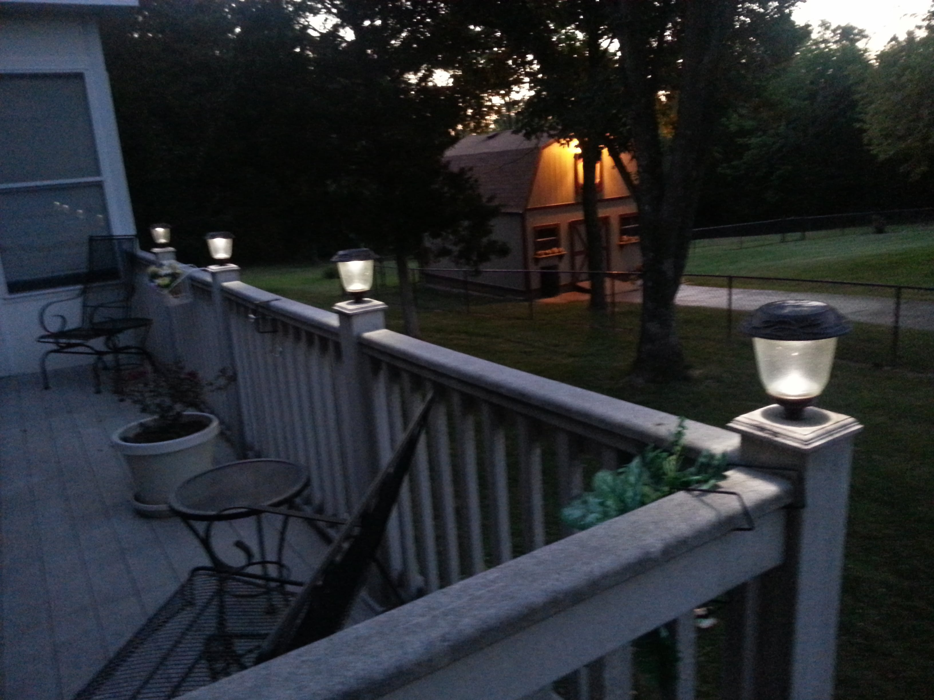 LED Solar lights for outdoor use