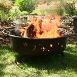 Outdoor portable fire pits