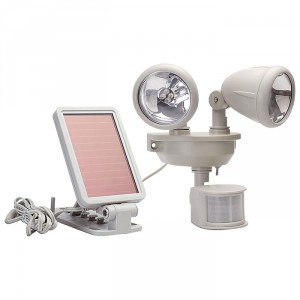 MAXSA Motion-Activated Dual-Head LED Security Floodlight