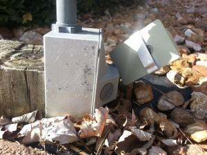 Electric Box and Dusk to Dawn Sensor