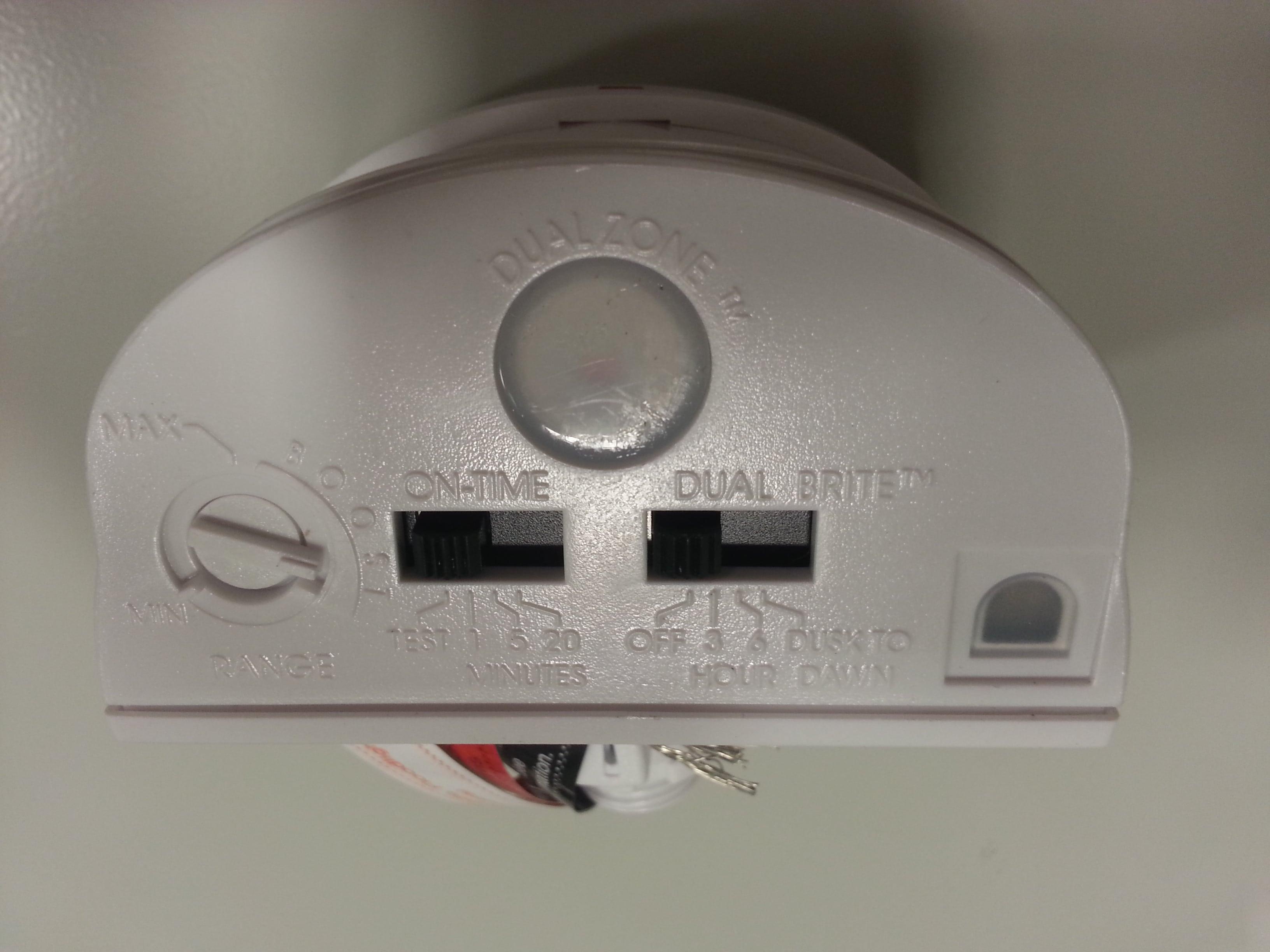 Outdoor Low Voltage Lighting Fixtures-Motion sensor