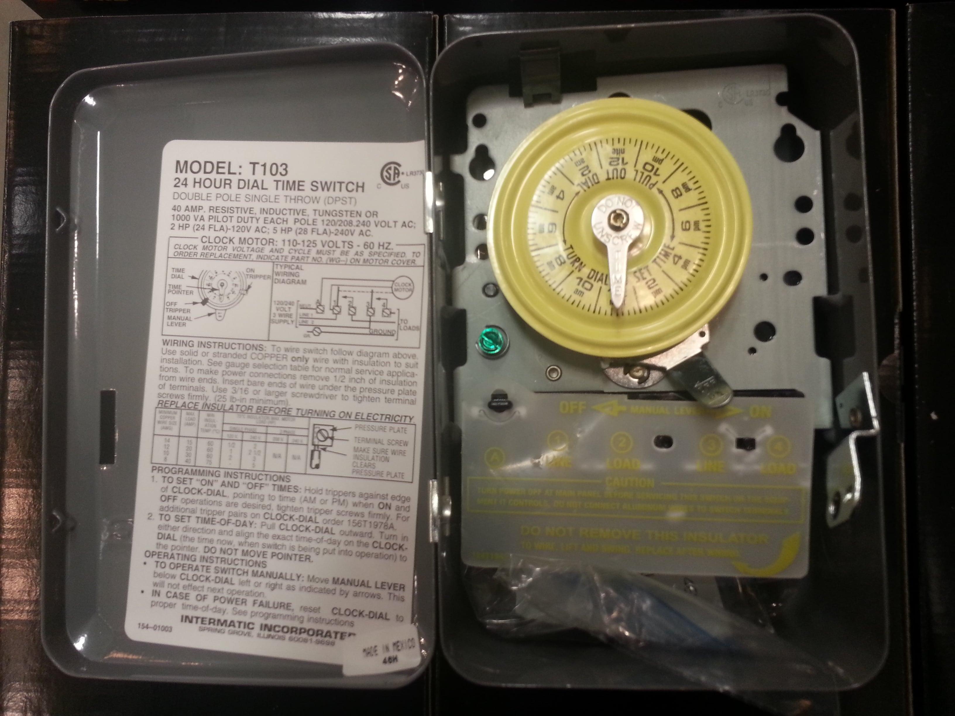 Line voltage timer