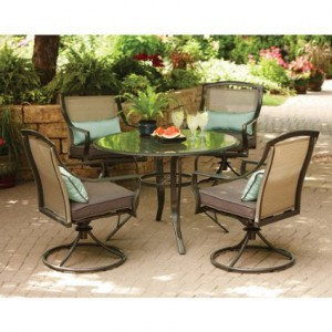 Outdoor Patio Dining Sets-Dining for four