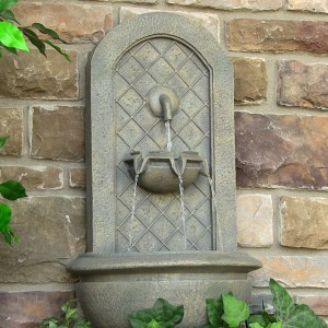 backyard water feature ideas-Marsala Wall Fountain