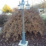 Outdoor Lighting Ideas for the Patio-Post Security Light