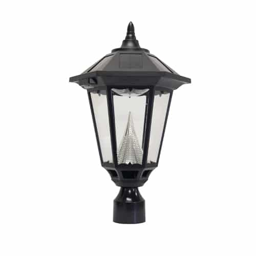 Five Outdoor Solar Lamp Post Lights for your outdoor security
