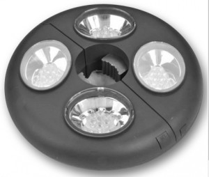 Lights for a Patio Umbrella-LED umbrella Light Battery Powered