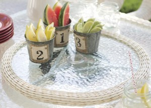 Outdoor Wicker Patio Furniture Sets-Resin Wicker Lazy Susan