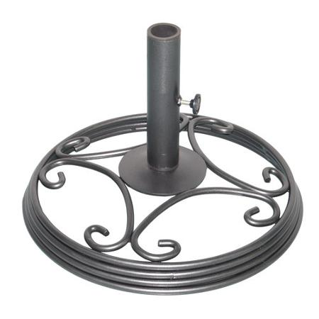 Different styles of Umbrella Stands for Outdoor Patio Areas