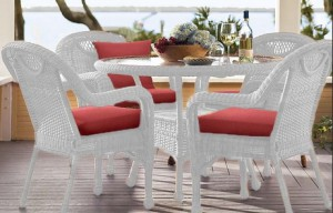 Resin Wicker Dining Set