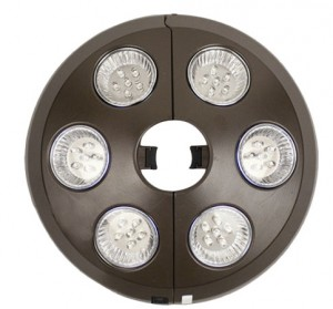 Lights for a Patio Umbrella-Pod Umbrella Pole Light