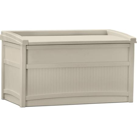 Suncast 50 Gallon Storage Box with Seating