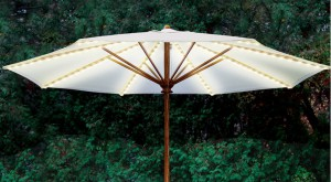 Lights for a Patio Umbrella-Umbrella Rib Light