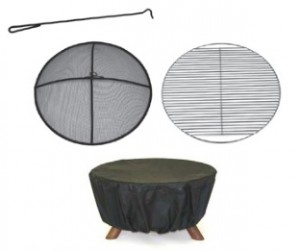 college fire pit accessories