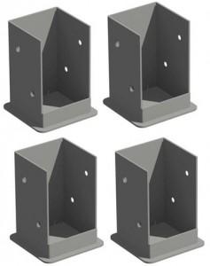 Vinyl Pergola Mounting brackets