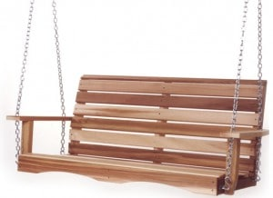 Cedar Porch Swing