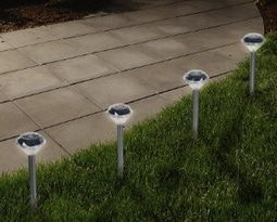 Diamond Solar Path lights set of 24