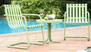 Gracie Outdoor Bistro Table and Chairs