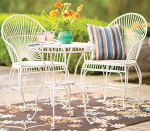 Sunburst Bistro set