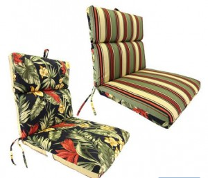 Reversible Replacement Cushions for Wrought Iron Furniture