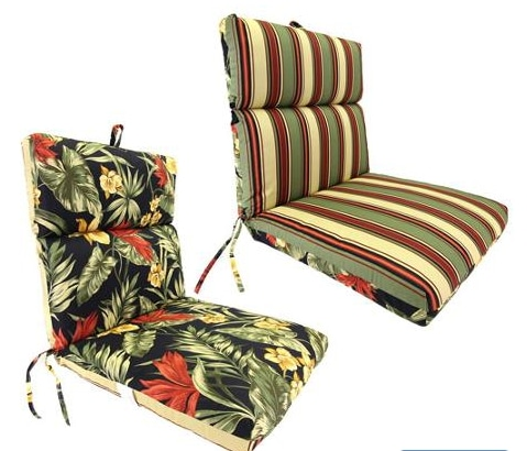 Need Outdoor Reversible Chair Cushions for your Dining Chairs