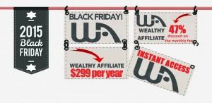 Wealthy Affiliate Black Friday Add