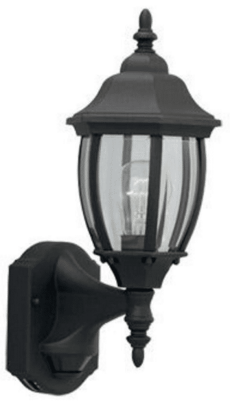 Outdoor Wall Mount Light Fixtures Review DF 2420MD-BK