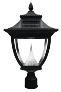 Gama Sonic 104 Solar Powered Outdoor Lamp Posts