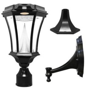 Gama Sonic 94 Solar Powered Outdoor Lamp Posts