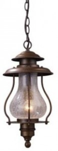 Outdoor Hanging Lantern-Elk lighting 62006-1