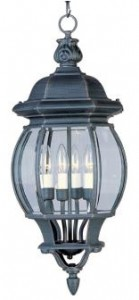 Outdoor Hanging Lantern-Maxim 1039