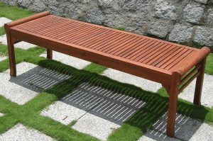 Eucalyptus Outdoor Bench without back