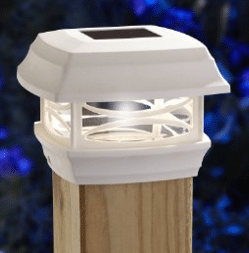 Moonray Solar Wooden Post Top light