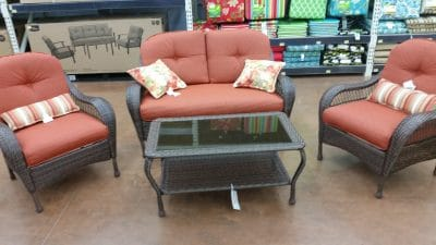Better Homes Gardens Azalea Ridge Patio Furniture 4-Piece Set Review
