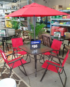 Mainstays Outdoor Dining Set Review