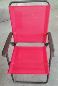 Patio Chair in Red for Searcy Creek Set