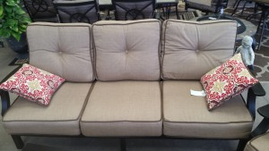Carter Hills Sofa with Pillows