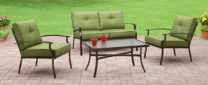 Bryant Place four piece Patio Conversation Set