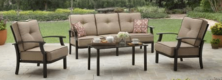 Outdoor Conversation Furniture Set of 4 pieces