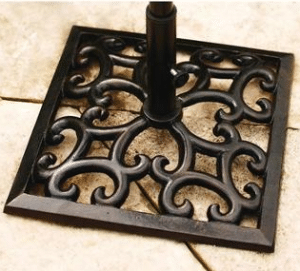 Cast Iron Patio Umbrella Base