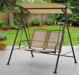 Aiden 2 seat Swing with Awning