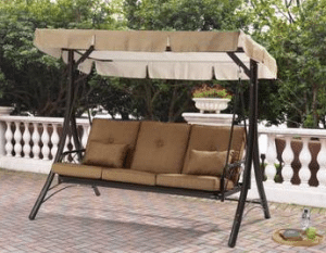 Lawson Ridge 3 person swing with canopy