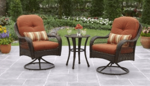 Outdoor Bistro Table and Chairs-Azalea Ridge Bistro Set