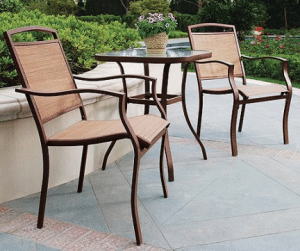 Sand Dune Small Bistro Sets for Outdoor