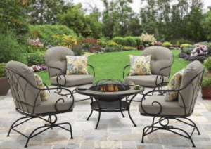Myrtle Creek Fire Pit and Chairs
